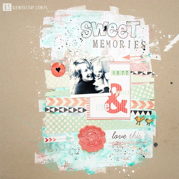 ILS - scrapbooking: September colours of the month: Paper Background, Photo