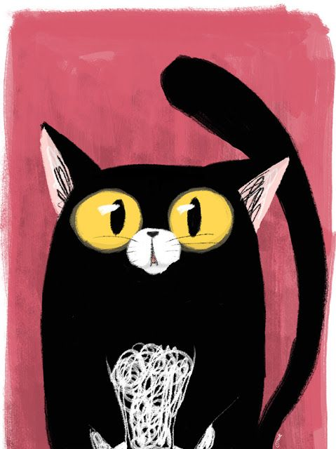 Mik's Day: Black Cat