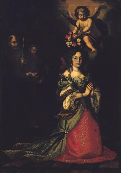 Queen Maria Francisca de Sabóia (1646-1683), first wife of King Pedro II - National Museum of Carriages