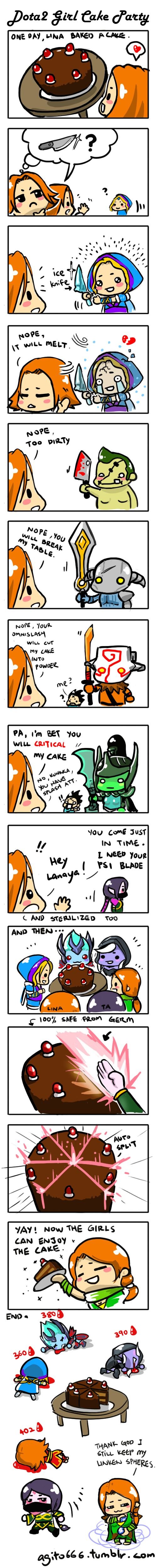 0456: Getting a knife for cutting cake by Agito666 on DeviantArt