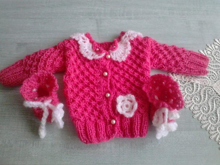 Robótkomania: Rozalkowy sweterek