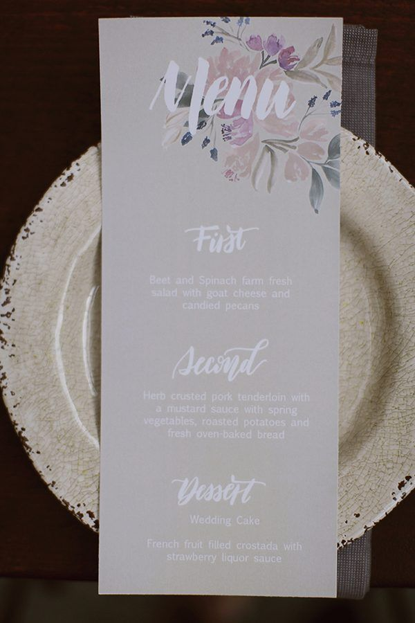 Oil is the New Watercolor Wedding Inspiration