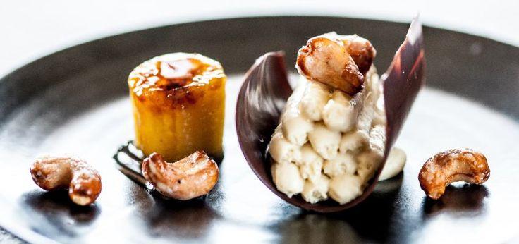 Banana chocolate cashew   Nathan Outlaw, St Enodoc Hotel, Rock PL27 6LA