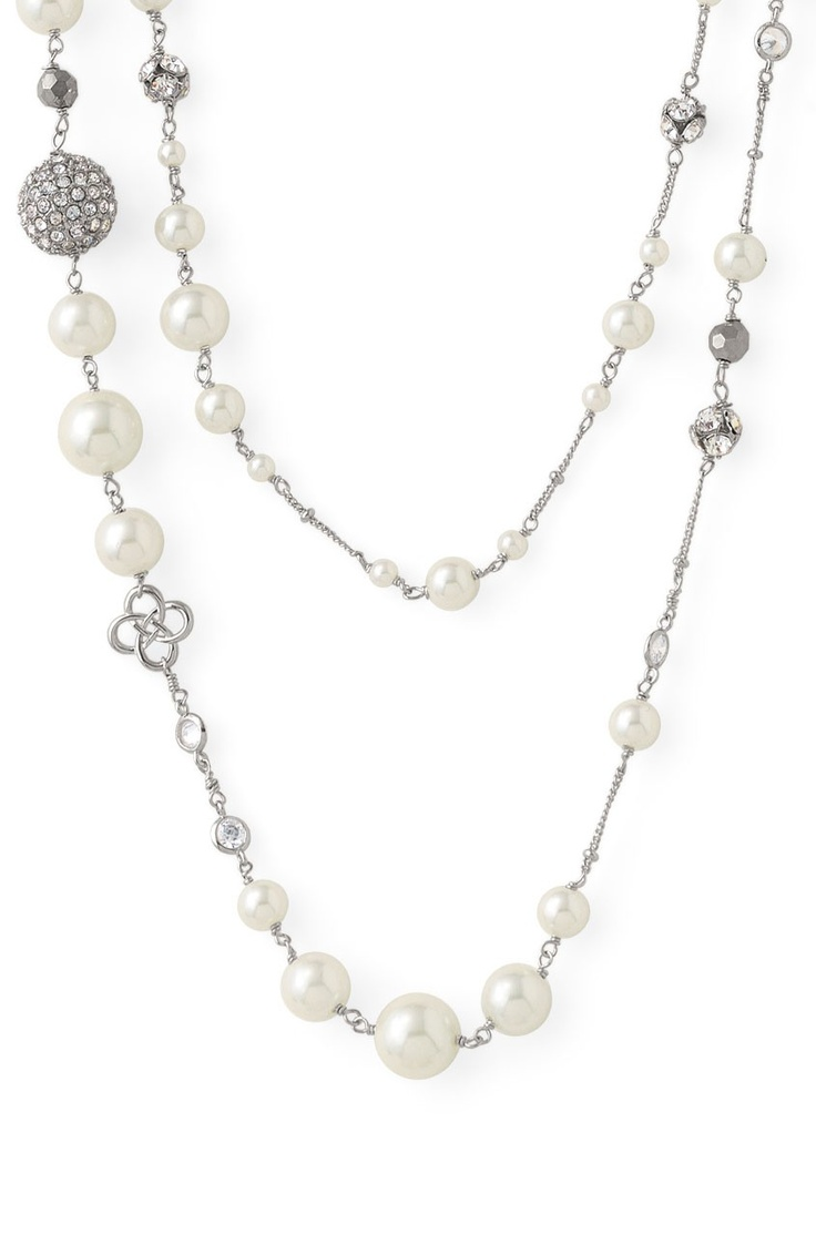 Wedding necklace, check!!! stella & dot - madeline pearl necklace