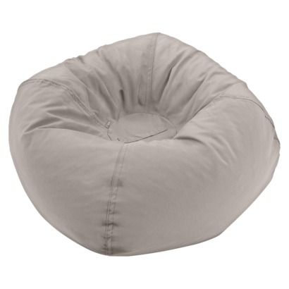 CIRCO BEAN BAG CHAIR GRAY Jett Would LOVE This He Loves To Sit