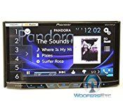 pkg Pioneer AVH-X5800BHS 2-DIN 7″ Touchscreen LCD DVD/CD Stereo Receiver with Spotify and Pandora Control, Camera Input and Built-in HD Radio + XO Vision HTC-36 Backup Camera with Nightvision