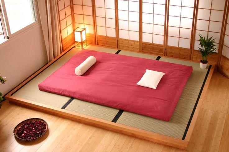 tatami japones @Maria Canavello Mrasek Gabriela kamar tidur kita begini yah nanti sayang wkwjkwk