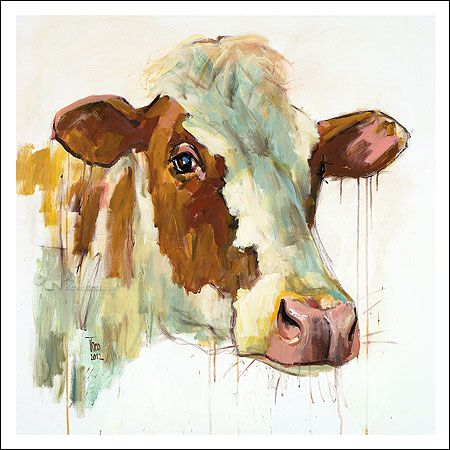 Red Holstein | Theo Onnes - Art Revisited