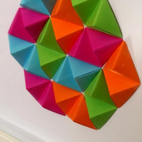 Geometric Wall Art - 'Colour Pop'