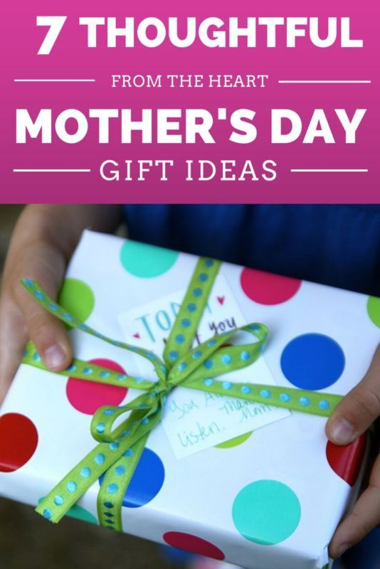 Seven Thoughtful Mother's Day Gift Ideas #spon