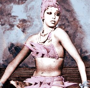Josephine Baker (1906-1975), dancer and activist, wrote articles about racism in America in the 1950s. She refused to perform for segregated audiences and this helped to integrate her audiences. She suffered threats from the Klu Klux Klan and charged the Stork Club with racism.  Grace Kelly supported her and they stormed out together. Baker worked with the NAACP and was rejected by blacks who feared her radicalism. She spoke in Washington next to Martin Luther King, Jr.
