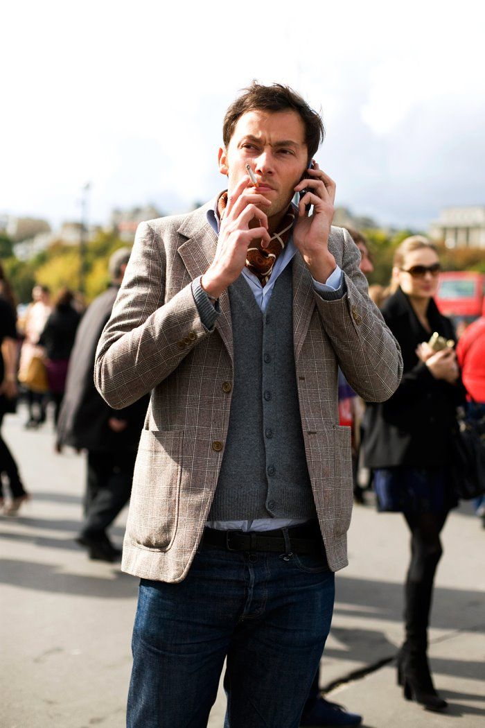 On the Street…Layered for Fall, Paris « The Sartorialist / the details