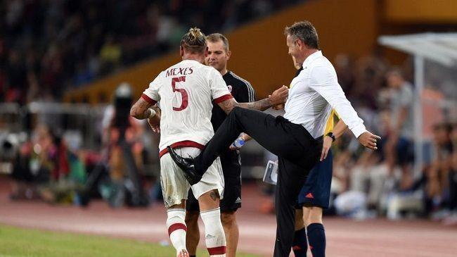 Philippe Mexes znowu strzelił cudownego gola • Inter Mediolan vs AC Milan • Francuz ukuł w meczu towarzyskim • Wejdź i zobacz film >>