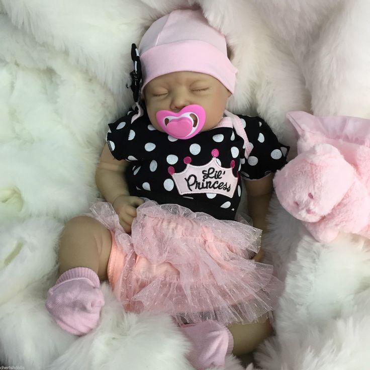 "REBORN DOLLS CHEAP BABY GIRL REALISTIC 22"" NEWBORN REAL LIFELIKE FLOPPY HEAD in Dolls & Bears, Dolls, Clothing & Accessories, Artist & Handmade Dolls | eBay"