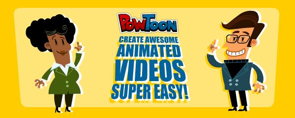 My favourite tool for the module. It allows you to create cool animated presentations in minutes. It is a presentation tool that incorporates an intuitive user interface and super cool comic graphics. http://www.powtoon.com/
