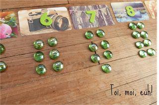 La boîte à jeton Montessori! Pour introduire la notion de chiffre pair & impair #Montessori, #toimoieuh