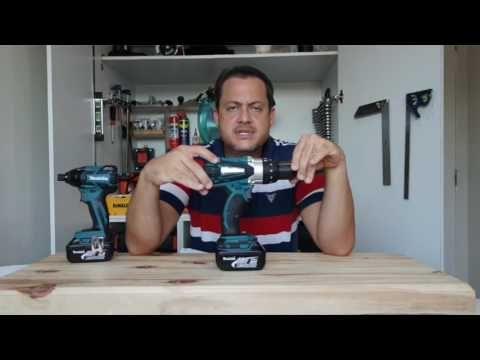 Review da furadeira e parafusadeira (cordless drill) da Makita DHP458 18v - YouTube