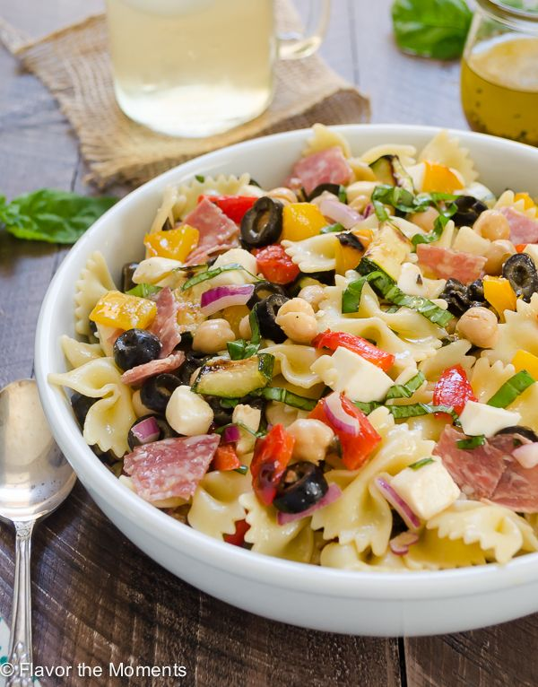 how to make a perfect pasta salad