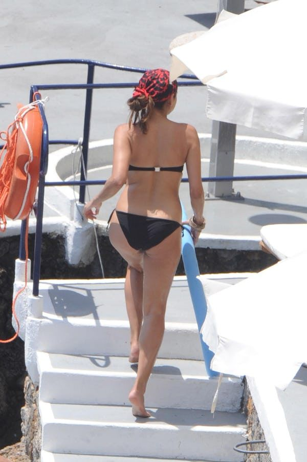 The hottest pictures of Eva Mendes in a bikini or other swimwear. The star of many movies and international ad campaigns... as well as being the star in the hearts and loins of many young men, Eva Mendes is one of the hottest ladies in show business. Those wanting to get a more intimate loo...