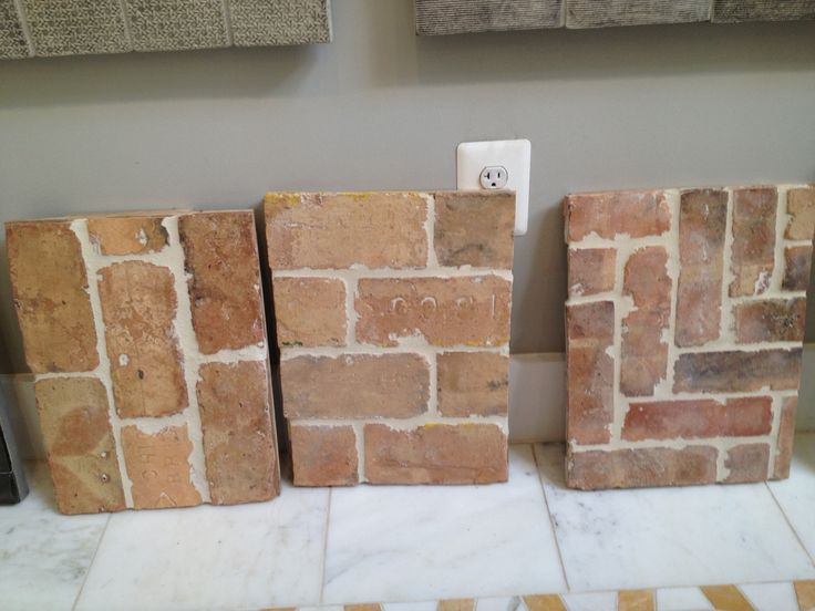 brick floor tile that look like worn brick home flooring