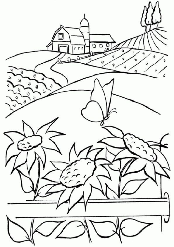 Bauernhof Kostenlose Ausmalbilder Zeichnung Malvorlagen Blumen Muster Malvorlagen Wenn Du Mal Buch