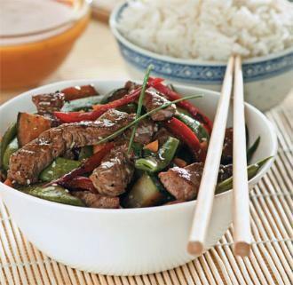 Κινέζικο βοδινό με πιπεριές