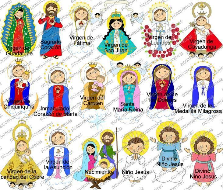 Virgenes distintas