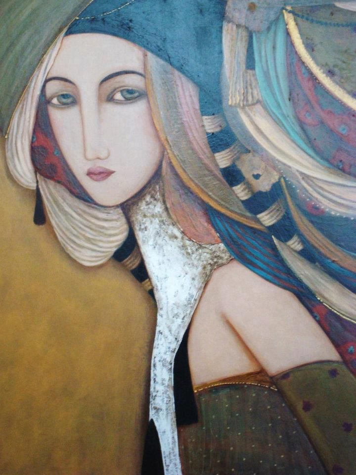 Faiza Maghni - France  한글의 기역형 구도도 아름다다는 것을 알 수 있다