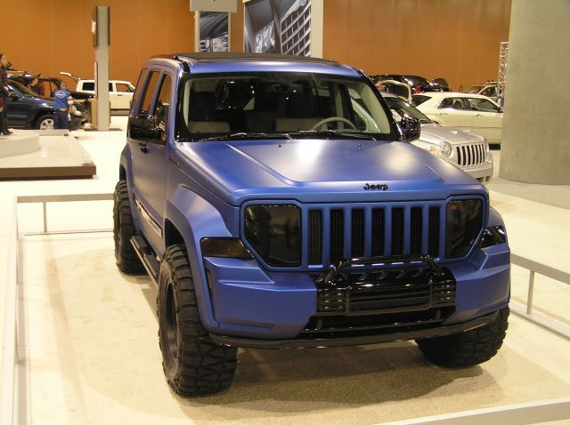 Lifted Jeep Liberty with Rims   What did you do to your KK ...