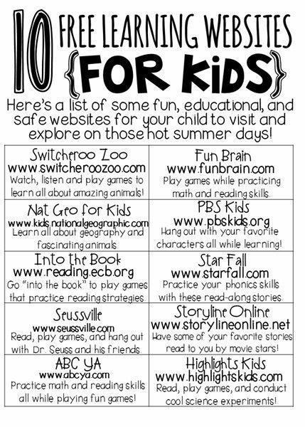 Online education for kids.