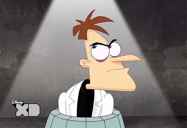 First Look: Damon Lindelof Inspires a Lost Homage on Phineas & Ferb