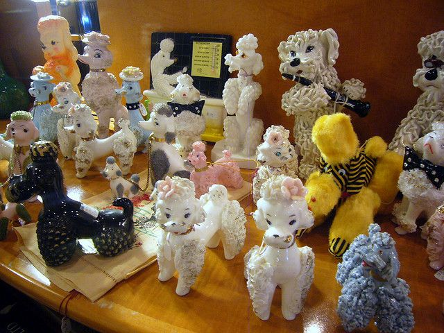 A collection of Vintage Poodles