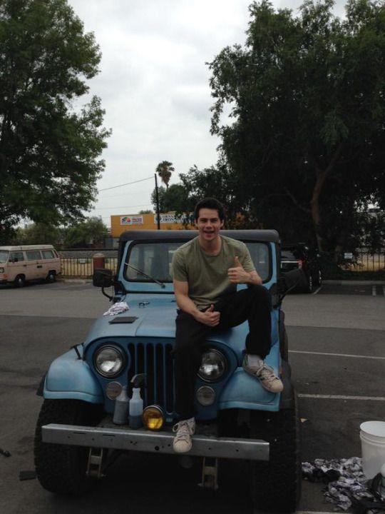 Dylan O´Brien - #TeenWolfseason5