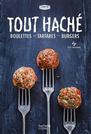 Coupé ou couteau, roulé en boulettes, façonné en burger, à la viande, ou poisson ou aux légumes, le haché se décline sous toutes ses formes et dons tous les pays du monde. Des possibilités infinies de recettes ! Découvrez des mélanges parfumés dans des recettes simplissimes : boulettes de veau aux herbes, boulettes de poulet au cumin, boulettes saumon-estragon, tartare à la libanaise, tartare de crevettes et lait de coco, burger de veau à l'italienne, Delhi burger,%2