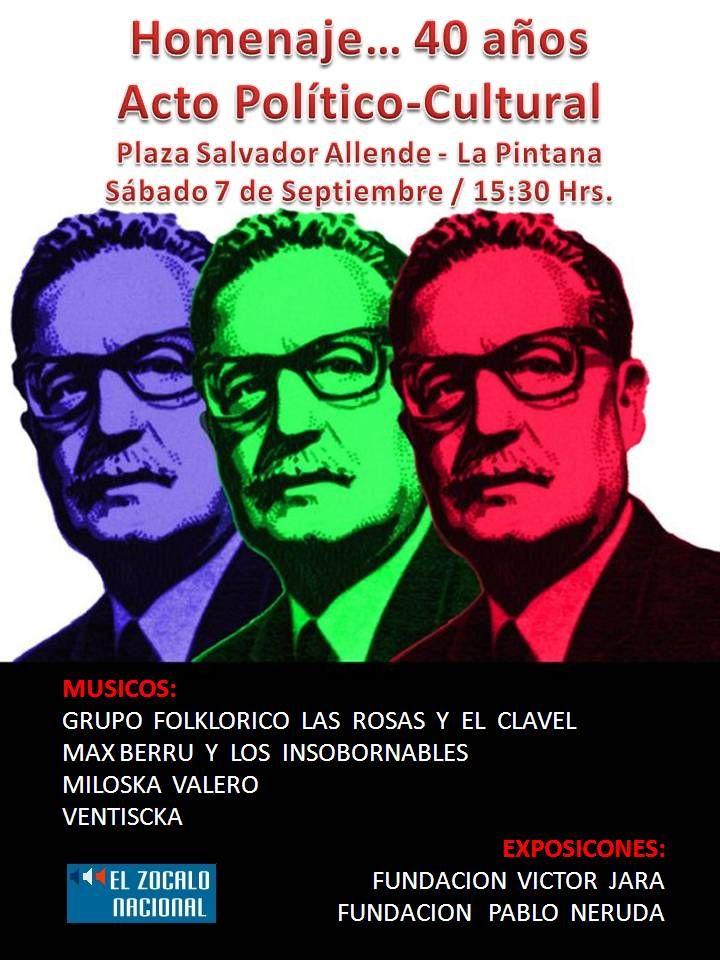 Homenaje… 40 años – Fundación Salvador Allende