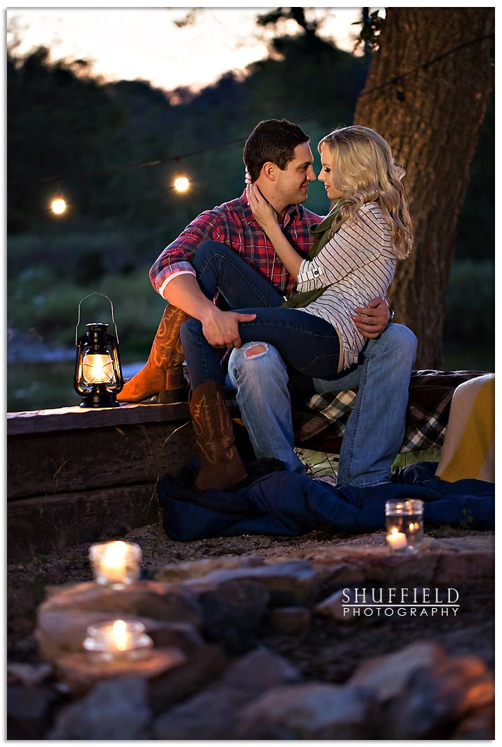 Brenna & Mason's Camping Inspired E Session. Love this shot. (my engagement photos) It's perfect!!!