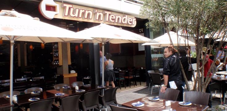 Restaurants in Johannesburg – Turn 'N' Tender. Hg2Johannesburg.com.