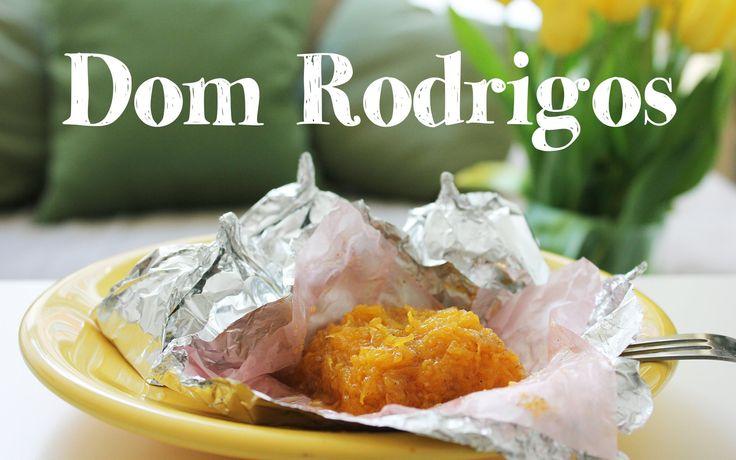 Dom Rodrigos recipe | Portuguese Traditional Dessert | Egg thread balls filled with nut paste