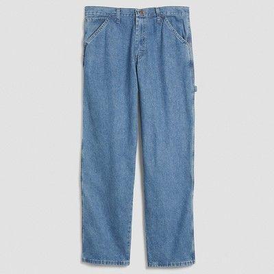 Wrangler Men's Relaxed Fit Carpenter Jeans - Antique Stone 34X30