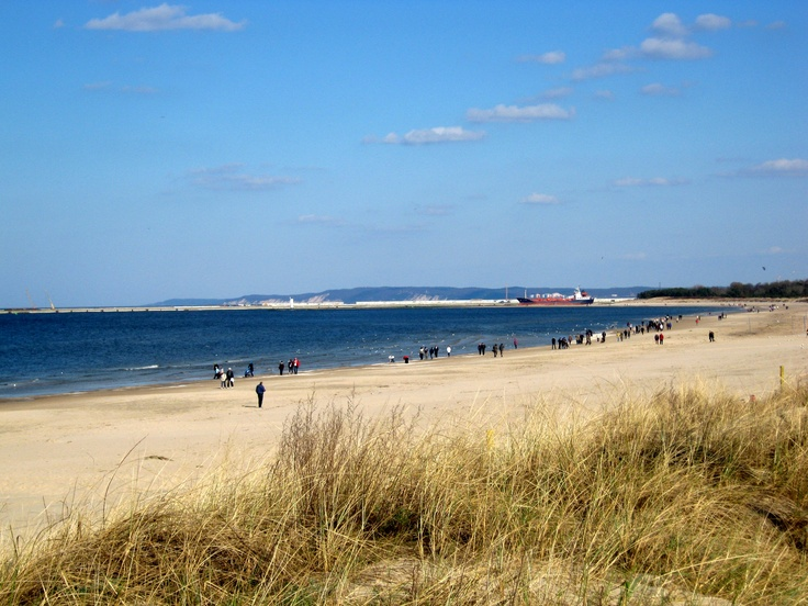 Beach in Swinoujscie - The widest beach on Baltic coast