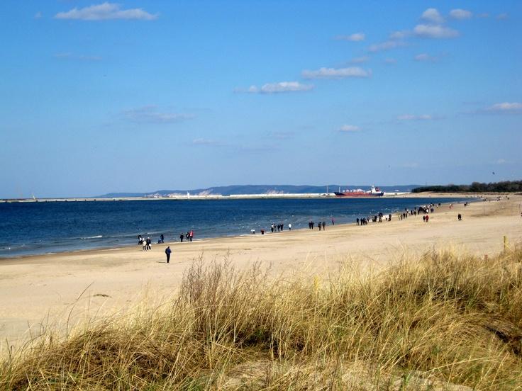 Beach in Swinoujscie - The widest beach on Baltic coast