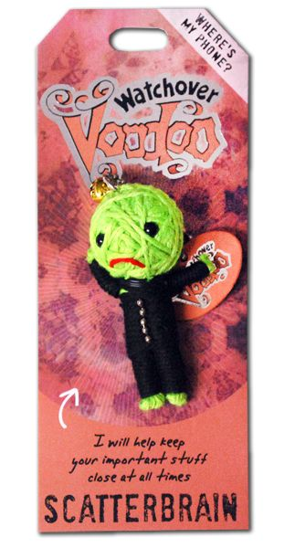 "Watchover Voodoo Dolls - Scatterbrain ""I will help keep your important stuff close at all times"""