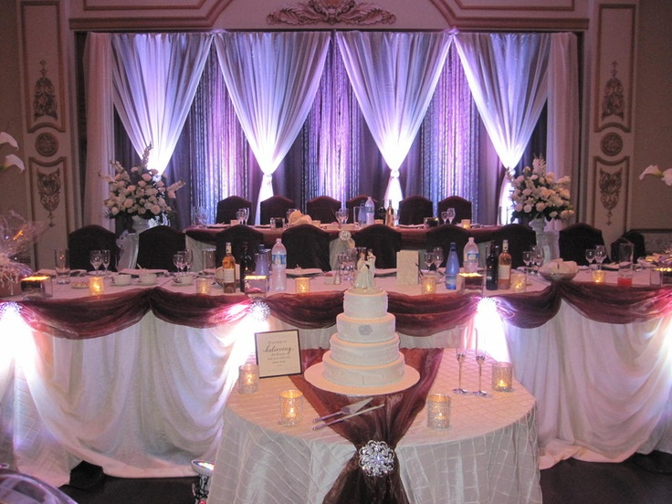 Head Table Decorations Wedding Reception Wedding Dress: 94 Best Images About Weddings By Sultana Wedding Decor On