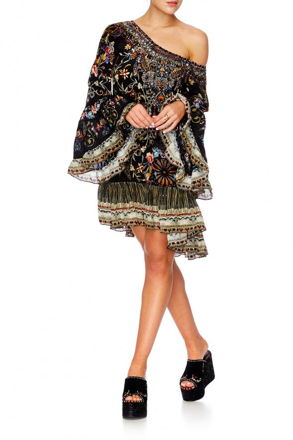 Camilla - Dancing In The Dark A Line Frill Dress