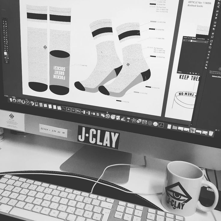 New shit in the making!  Socks available at www.jclay-socks.com  Link in Bio    #jclay #makingof #teamjclay #behindthescenes #socksforsneakers #socks #sneakers #sneaker #kicks #kickstagram #sneakersocken #sneakersocks #sockswag #invisiblesocks #bestsocks #solecollector #solenation #gymsocks #socksfetish #fashion #design