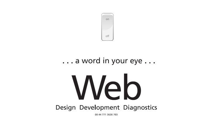 Io Web - Design Development Diagnostics - Are you sitting comfortably?