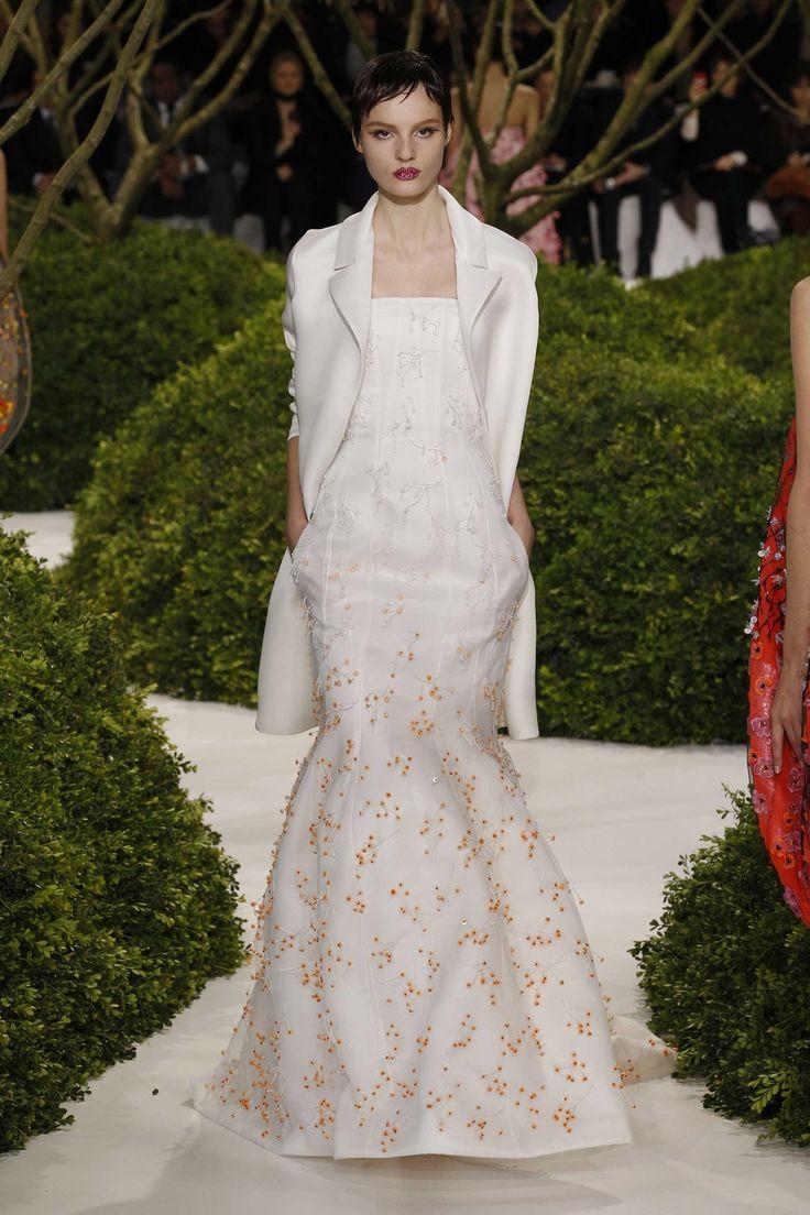 Silk and Wool Blouson Dress Spring/summer Dior wISYNpkyFI