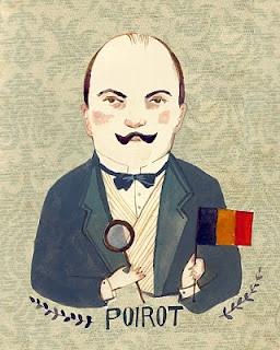 Agatha Christie's inimitable, impeccable Hercule Poirot.