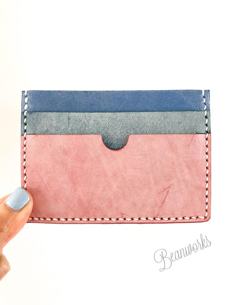 172 best Handmade genuine leather wallet / coins bag / purse ...