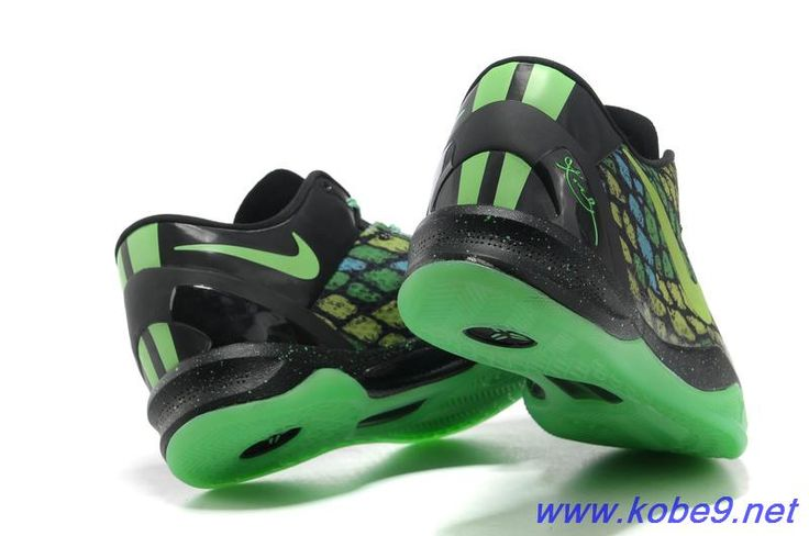 best website c95f1 0c1e7 Nike Kobe VIII (8) GreyNeon Green ike Zoom Kobe  Garden City Georgia  Discount 555035 105 Nike Kobe 8 System Year Of The Snake Mamba Black ...